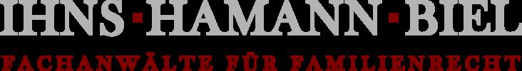 Ihns Hamann Biel Rechtsanwälte Familienrecht Logo
